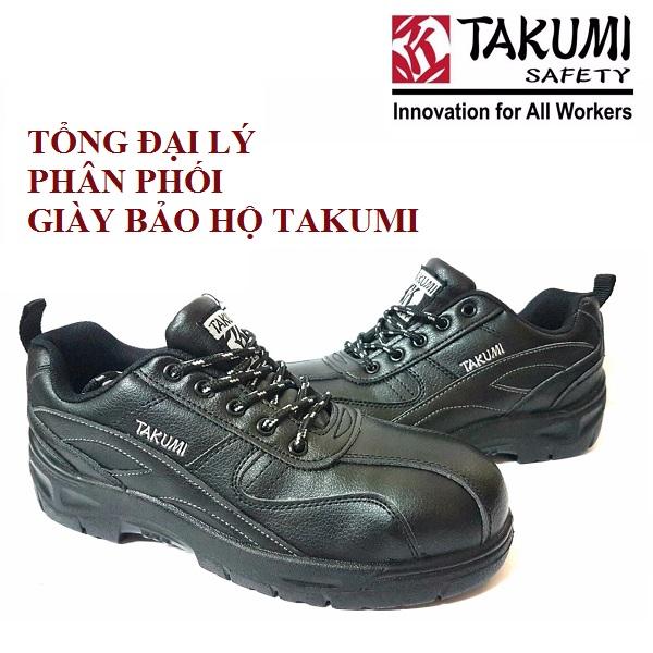 Tổng đại lý giày bảo hộ Takumi uy tín tại Hà Nội
