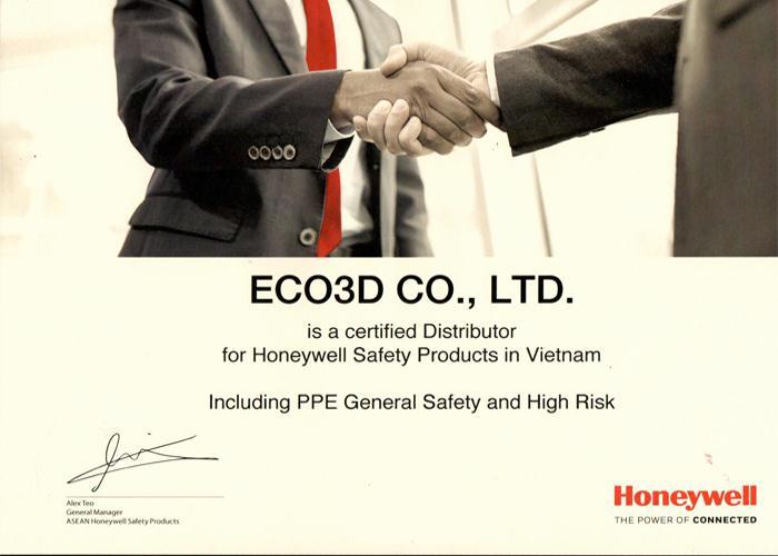 eco3d là nhà phân phối chính thức của honeywell