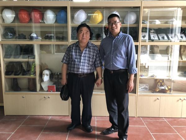 Chủ tịch COV International thăm quan công ty ECO3D