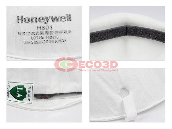 khẩu trang chống bụi honeywell H801