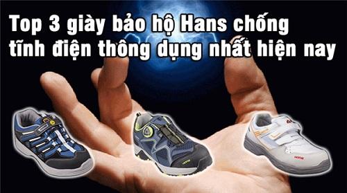 Top 3 giày bảo hộ Hans chống tĩnh điện thông dụng nhất hiện nay