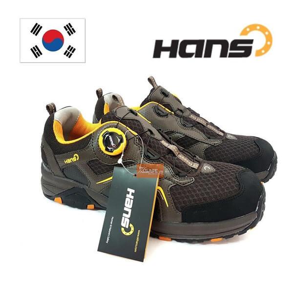 Giày bảo hộ Hans - thương hiệu giày nên dùng nhất 2020