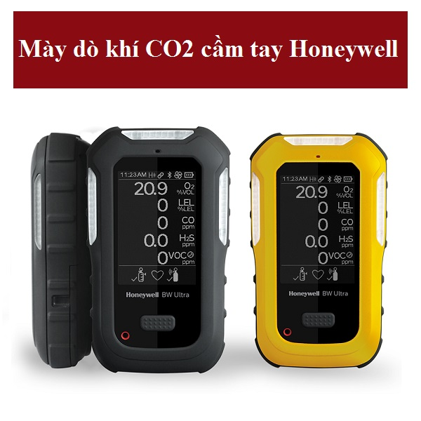 Tìm hiểu máy dò khí CO2 cầm tay Honeywell