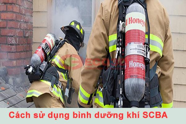 Cách sử dụng thiết bị trợ thở SCBA