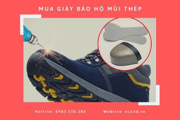 Top 10 giày bảo hộ mũi thép đáng sở hữu nhất cho anh em công nhân