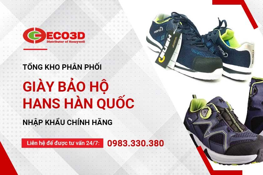 Tìm đại lý giày bảo hộ Hàn Quốc Hans