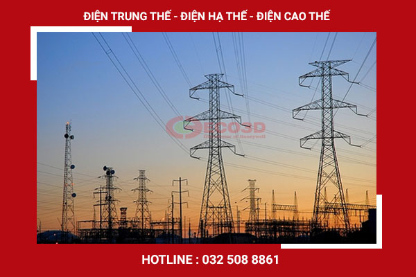 Phân biệt điện trung thế với điện hạ thế, điện cao thế