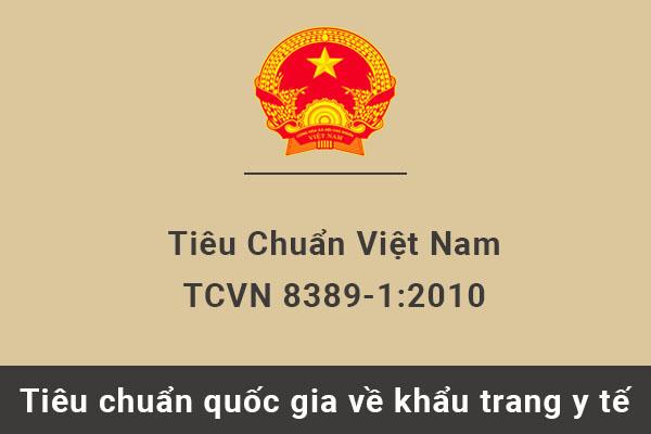 Tiêu chuẩn quốc gia TCVN 8389-1:2010 về Khẩu trang y tế