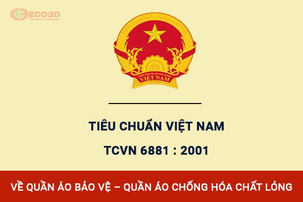 Tiêu chuẩn Việt Nam TCVN 6881 : 2001 về quần áo chống hoá chất
