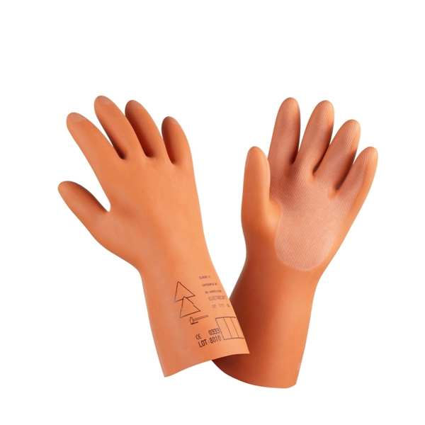 Kết quả hình ảnh cho Găng tay chống điện giật Electrosoft 36000V Class 4