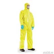 Bộ quần áo bảo vệ hóa chất SPACEL PLUS 3000 RA Size M