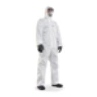 Quần áo chống độc dùng 1 lần màu trắng
