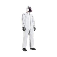 Quần áo chống độc dùng 1 lần Mutex T4 trắng