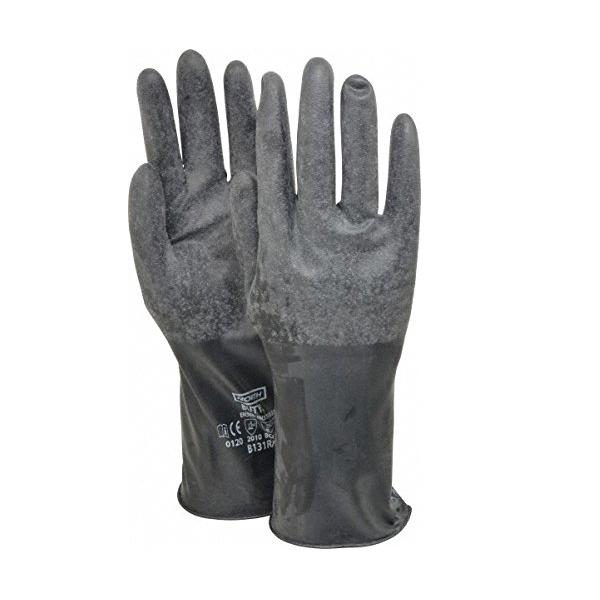 Găng tay vệ sinh bảo vệ hóa chất Butyl B131