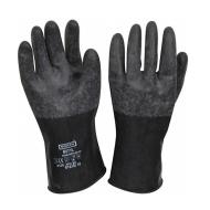 Găng tay vệ sinh bảo vệ hóa chất PVC B161
