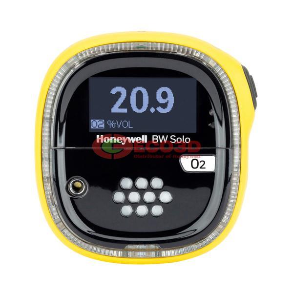 Máy dò khí Honeywell BW Solo, O2 Standard, Yellow