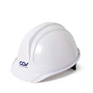 Mũ bảo hộ Hàn Quốc COV Màu trắng