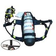 Bộ Thiết Bị Trợ Thở SCBA845T T8000, Mặt Nạ PANO, Carbon 6.8L