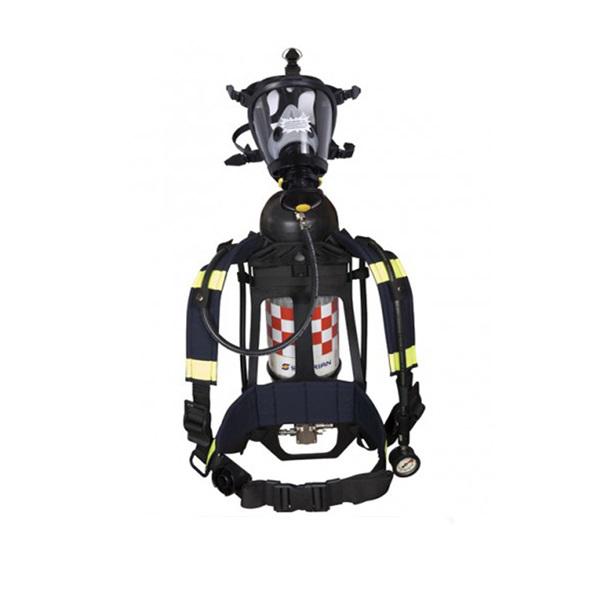 Bộ Thiết Bị Trợ Thở SCBA859T T8000, Mặt Nạ Survivair 20/20, Carbon 9L, Dây Kết Nối
