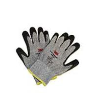 Găng tay chống cắt cấp độ 3, xám trắng (M)