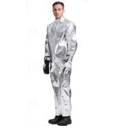 Bộ quần áo tráng nhôm chịu nhiệt 1600 độ C 4HV