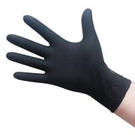 Găng tay Nitrile màu đen 4g size M