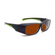 Kính chống tia Laser Phillips-Safety YAG Đa sóng màu nâu 17001