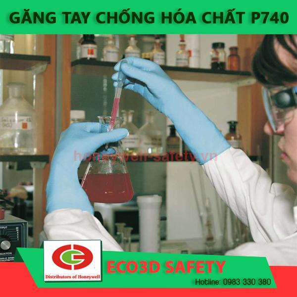 ECO3D-găng tay chống hóa chất một lần P 740 KLC