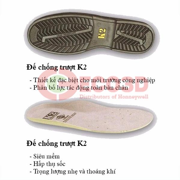Lót giày bảo hộ TE7000 của Honeywell