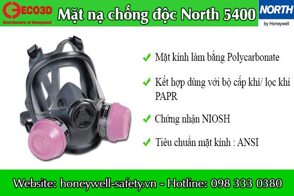 Mặt nạ chống độc North 5400