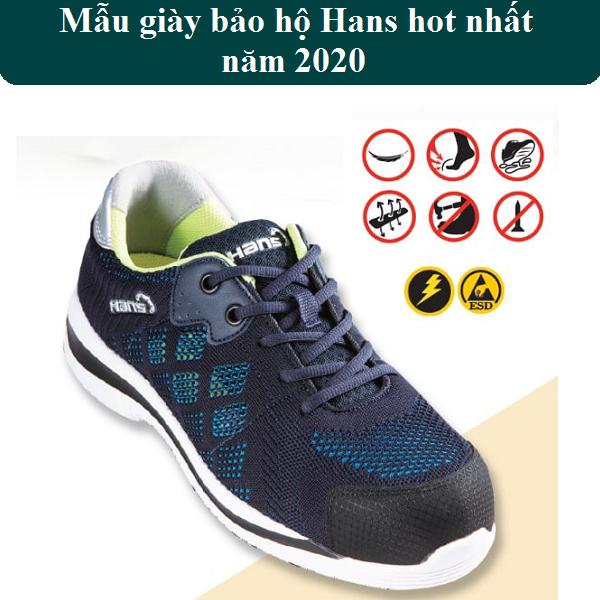 Mẫu giày bảo hộ thể thao hans hot nhất năm 2020