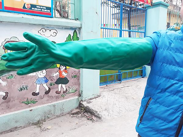 Găng tay chống hóa chất KCL Camatril 733