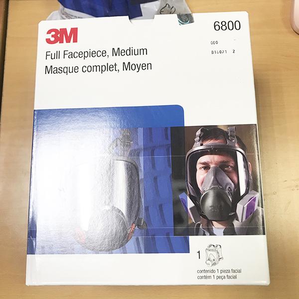 Mặt nạ phòng độc nguyên mặt 3M 6800