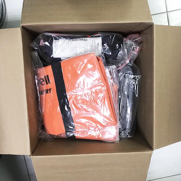 Quần áo chống tia hồ quang Arc Flash 40 cal/cm2, Size XL