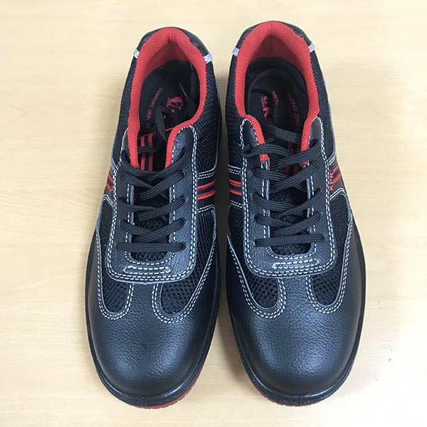 Giày King power I881 đỏ đen, mũi composite