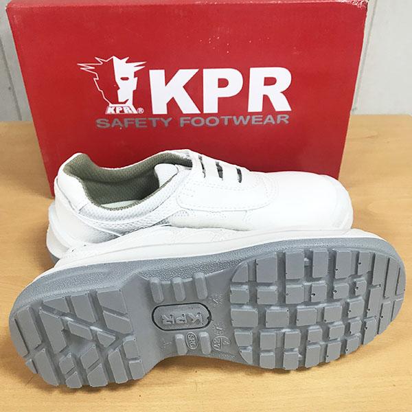 Giày King Power L088 màu trắng, mũi thép