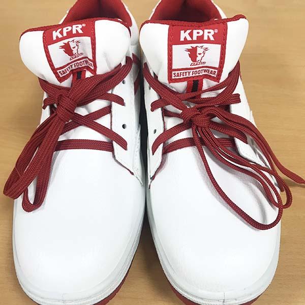Giày King Power I882 trắng đỏ, mũi composite
