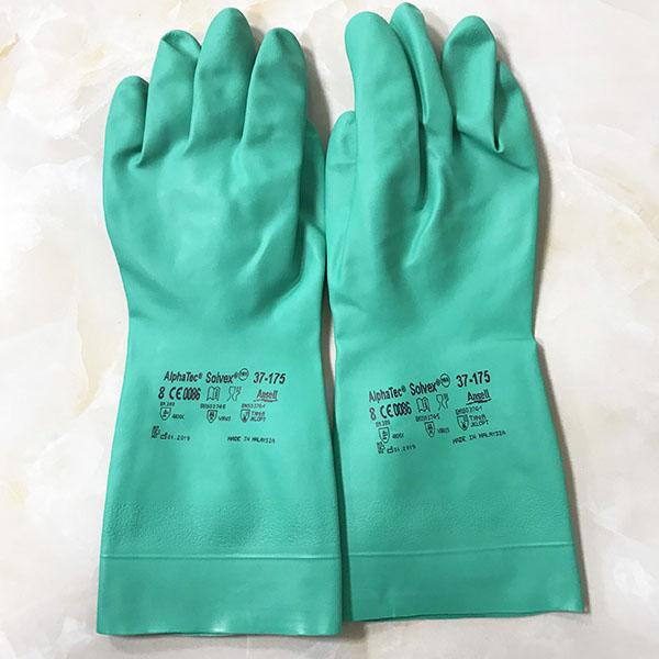 Găng tay chống hóa chất tái sử dụng Ansell Alphatec 37-175